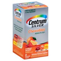 Centrum® Silver® Chewables 60-Count Multivitamin/Mineral Supplement in Citrus Berry Flavor