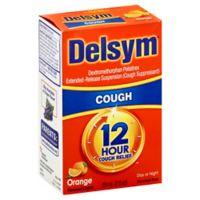 Delsym® 12-Hour 3 oz. Cough Suppressant Liquid in Orange Flavor