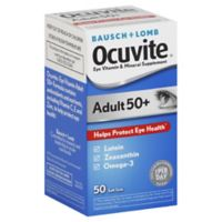 Bausch + Lomb 50-Count Ocuvite Adult 55+ Softgels
