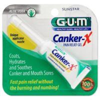 Sunstar GUM® Canker-X® 1.28 oz. Triple Action Pain Relief Gel