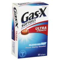 Gas-X Ultra 50-Count Softgels