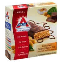 Atkins™ Chocolate Peanut Butter Bar 5-Count Snack Bar
