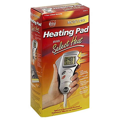 Moist Heating Pad Bed Bath And Beyond