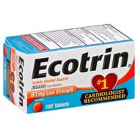 Ecotrin® Aspirin 150-Count Low Strength Safety Coated Tablets