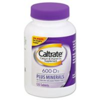 Caltrate® 600+ D 120-Count Calcium Supplements with Vitamin D3