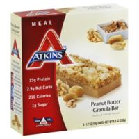 Atkins Advantage 5-Count Peanut Butter Granola