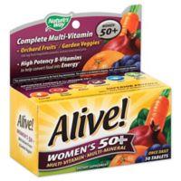 Alive! 50-Count Senior Women's Energy Multivitamin 50 +