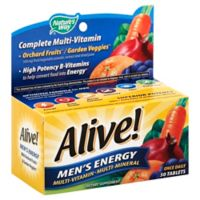 Alive!® Men's Energy 50-Count Multi-Vitamin/Multi-Mineral Dietary Supplement Tablets