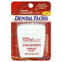 Harmon® Face Values™ 100 yd. Unwaxed Dental Floss