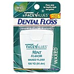 Harmon® Face Values™ 100 yd. Unwaxed Mint Dental Floss
