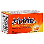 Motrin IB 50-Count 200 mg Ibuprofen Tablets