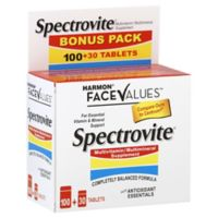 Harmon® Face Values™ Spectrovite® 130-Count Multivitamin/Multimineral Tablets