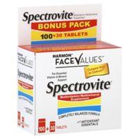 Harmon® Face Values™ Spectrovite® 130-Count Multivitamin/Multimineral Tablets