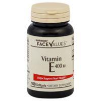 Harmon® Face Values™ 100-Count 400 IU Vitamin E Softgels