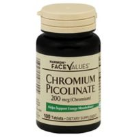 Harmon® Face Values™ 100-Count 200 mg Chromium Picolinate Tablets