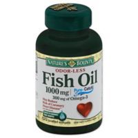 Nature's Bounty 100-Count 1000 mg Odorless Fish Oil Softgels