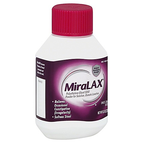 MiraLax Pediatric Study on Psychiatric Side Effects ...