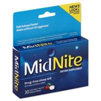 MidNite® 30-Count Sleep Aid Tablets