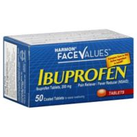 Harmon® Face Values™ Ibuprofen 50-Count 200 mg Tablets