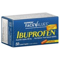 Harmon® Face Values™ 50-Count 200 mg Ibuprofen Caplets