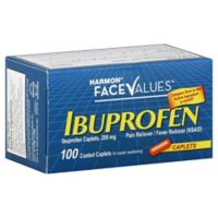 Harmon® Face Values™ 100-Count 200 mg Ibuprofen Caplets