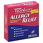 Harmon® Face Values™ Allergy Relief 24-Count Antihistamine Caplets