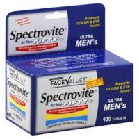 Harmon® Face Values™ Spectrovite® 100-Count Ultra Men's 50+ Multivitamin Tablets