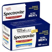 Harmon® Face Values™ Spectrovite® 100-Count Ultra Men's Tablets
