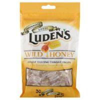 Luden's 30-Count Wild Honey Cough Drops