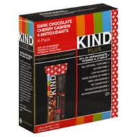 KIND® Plus 4-Pack Fruit & Nuts Bars in Dark Chocolate Cherry Cashew + Antioxidants