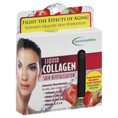 Applied Nutrition Liquid Collagen Skin Revitalization 10-Count Liquid Tubes