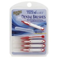 Harmon® Face Values™ 10-Count Interdental Brush