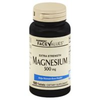 Harmon® Face Values™ 100-Count Extra Strength 500 mg Magnesium Tablets