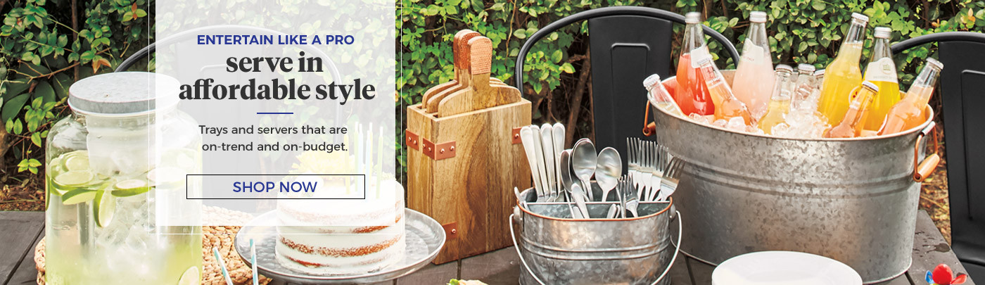 Shop Galvanized Serveware
