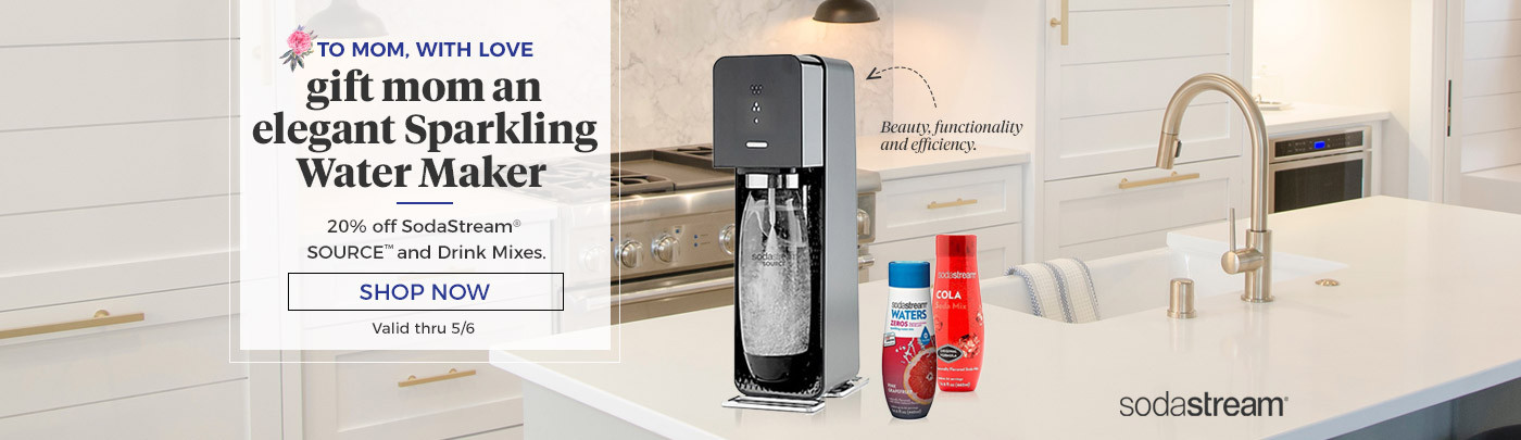 Shop SodaStream SOURCE and Drink Mixes
