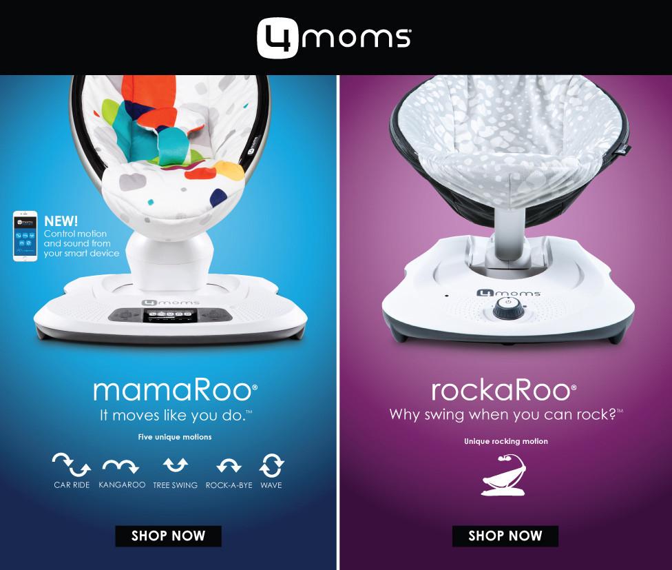 4moms mamaRoo and rockaRoo