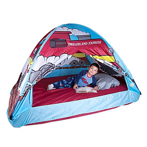 pacific play tents dream land express train full bed tent buybuy baby. Black Bedroom Furniture Sets. Home Design Ideas