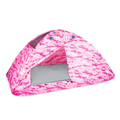 Pacific Play Tents H.Q. Camo Twin Bed Tent in Pink  sc 1 st  Bed Bath u0026 Beyond & Buy Tent for Kids from Bed Bath u0026 Beyond