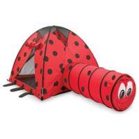 Pacific Play Tents Ladybug Tent & Tunnel Combo Set