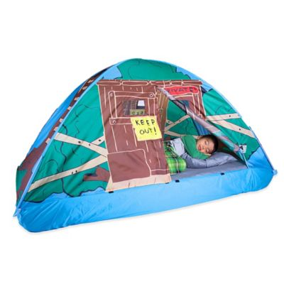 Pacific Play Tents Tree House Twin Bed Tent  sc 1 st  Bed Bath u0026 Beyond : tent for a bed - memphite.com