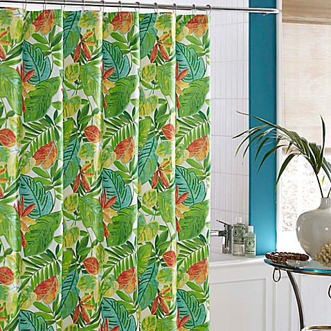 J Queen New York Malibu Shower Curtain Bed Bath Beyond