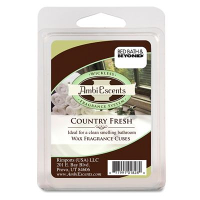 Country Home Bathroom Fragrance Cubes. Buy Home Fragrance from Bed Bath  amp  Beyond