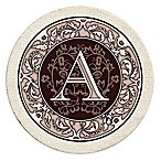 "Monogram Letter ""A"" Coasters (Set of 4)"