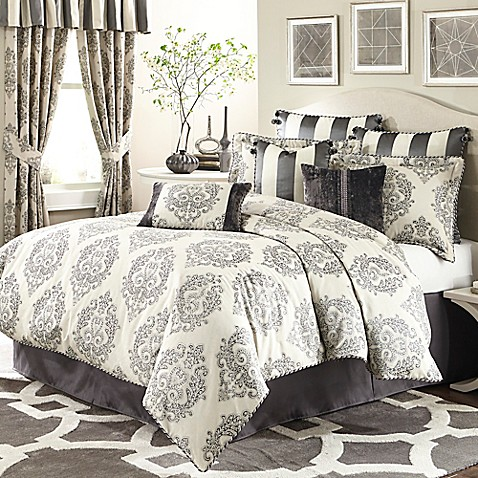 michael amini park lane 4piece comforter set