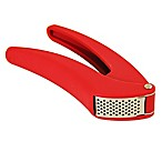 Kuhn Rikon Easy-Clean Garlic Press in Red