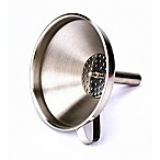 8 oz. Stainless Steel Funnel with Strainer