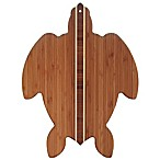 Totally Bamboo 14-Inch x 11-Inch Sea Turtle Bamboo Cutting/Serving Board