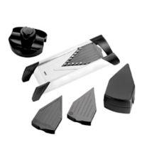 GEFU V-Blade 4-Piece Stainless Steel Mandoline Slicer