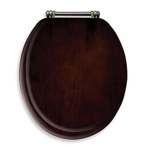 Ginsey Round Toilet Seat In Wood Bed Bath Amp Beyond