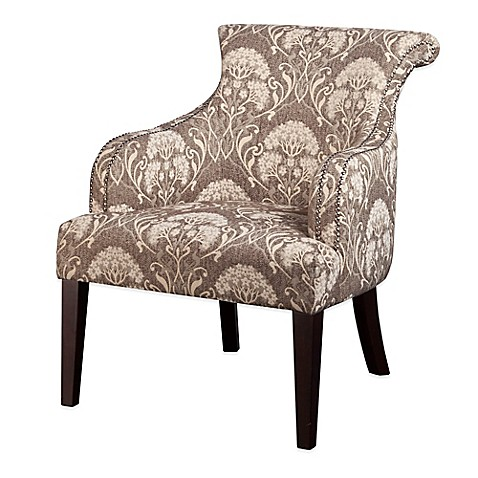 Madison Park Alexis Rollback Accent Chair In Taupe Multi